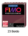 Fimo professional 85g. 23 Bordo (art. 8004-23)