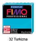 Fimo professional 85g. 32 Turkizna (art. 8004-32)