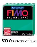 Fimo professional 85g. 500 Osnovno zelena (art. 8004-500)