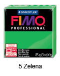 Fimo professional 85g. 5 Zelena (art. 8004-5)