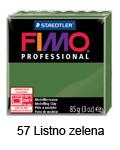 Fimo professional 85g. 57 Listno zelena (art. 8004-57)