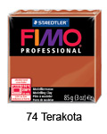 Fimo professional 85g. 74 Terakota (art. 8004-74)