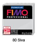 Fimo professional 85g. 80 Siva (art. 8004-80)