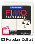 Fimo professional 85g. 03 Porcelan Doll art (art. 8027-03)