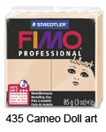 Fimo professional 85g. 435 Cameo Doll Art (art. 8027-435)
