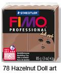 Fimo professional 85g. 78 Hazelnut Doll Art (art. 8027-78)