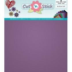 Samolepilna folija Mirror Vijolična 20 x 23cm, 2 kosa