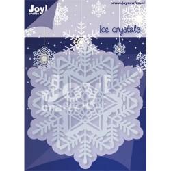 Joy crafts šablona za rezanje in em. Snežinka 87x100mm