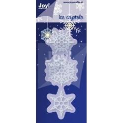 Joy šablona za rezanje in em. Snežinke 38,5x43/36,5x31,5/32x37mm