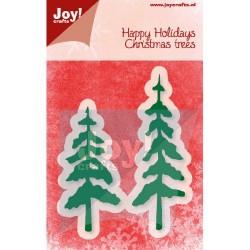 Joy crafts šablona za rezanje Smrečici 34x100/35,5x80mm