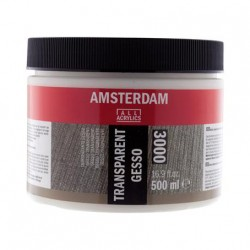 Amsterdam Gesso Prozorna 500ml