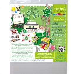 Shrink plastika za Ink-jet tiskalnik A4, 5kos Bela