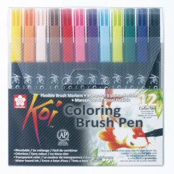 Sakura Koi brush marker set 12