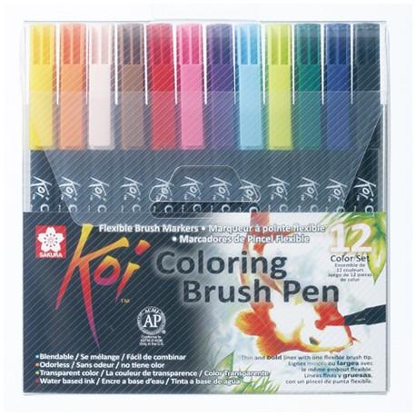 Sakura Koi brush marker set 12