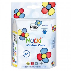 Mucki windov color Set 4 x 29ml