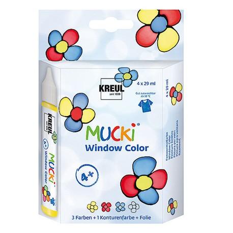 Mucki windov color Set 4 x 29ml