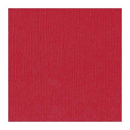 Florence teksturni papir 30x30cm 216g. Ruby