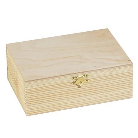 Lesena škatla smreka 20 x 7 x 16cm