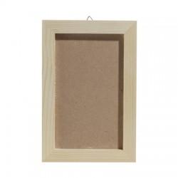 Okvir z ozadjem zunaji premer 14x21cm, notranji premer 10x17cm