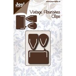 Joy crafts noži Klip 45 x 60mm, 3 kosi