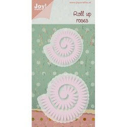 Joy Crafts noži Roll up Roži 60x57/45x43mm 2 kosa