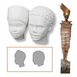 Powertek figurica Obraza 4 x 5 x 3cm