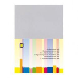 Prosojna - transparentna folija 0,25 Microna A3, 5 kosov