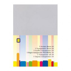 Prosojna - transparentna folija 0,25 Microna A4, 5 kosov