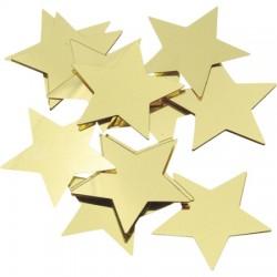Alu Zvezdice Zlate 30mm, 20g.