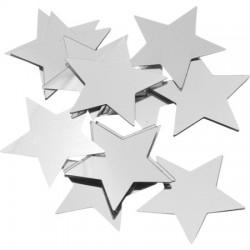 Alu Zvezdice Srebrne 30mm, 20g.