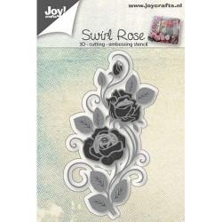 Joy crafts štampiljka 3D Vrtnica 47x84mm