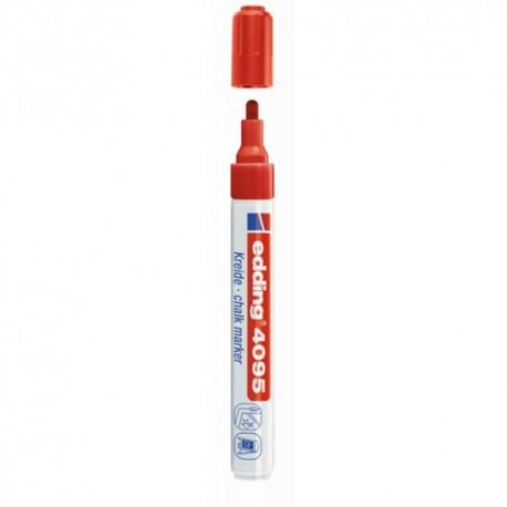 Edding kredni marker E-4095 2-3mm Rdeč 002