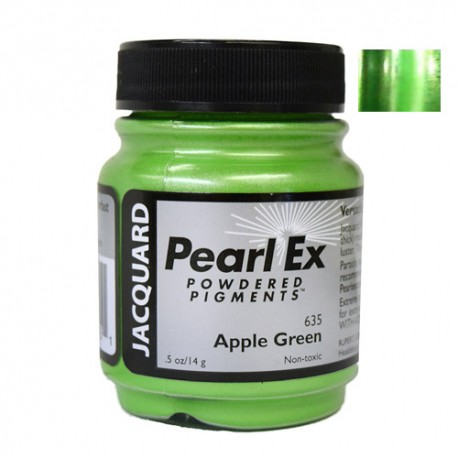 Pearl Ex kovinski pigment 14g. 635 Apple green