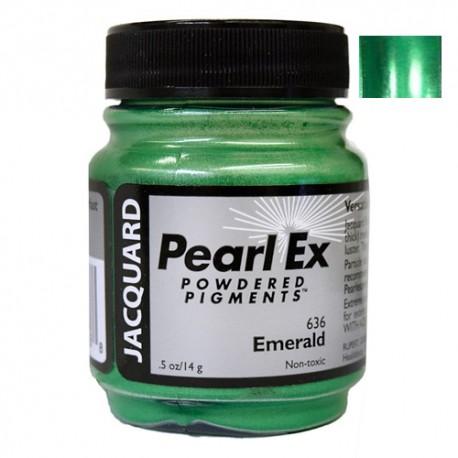 Pearl Ex kovinski pigment 14g. 636 Emerald