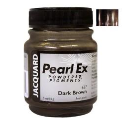 Pearl Ex kovinski pigment 14g. 637 Dark Brown