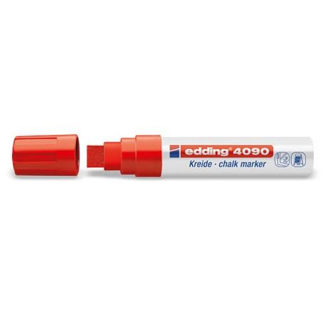 Edding kredni marker 4-15mm 002 Rdeč