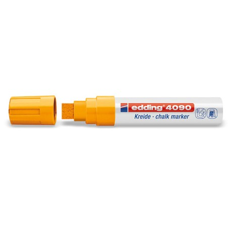 Edding kredni marker 4-15mm 066 Neon oranžen