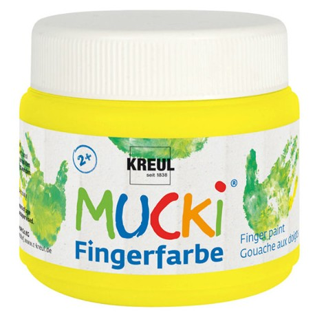 Mucki flourescentna prstna barva 150ml
