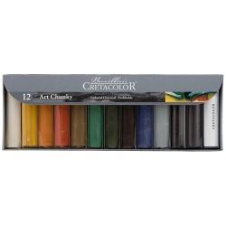 Cretacolor Art Chunky set 12