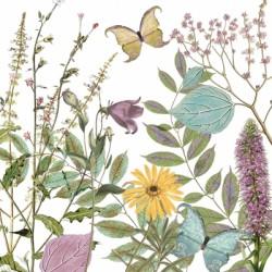 Papirni prtički Servieti Cvetlični vrt 4 kosi 33x33cm