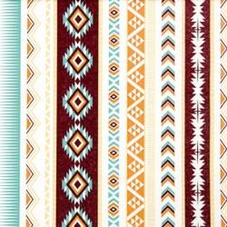 Papirni prtički Servieti Indijanski vzorci 4 kosi 33x33cm