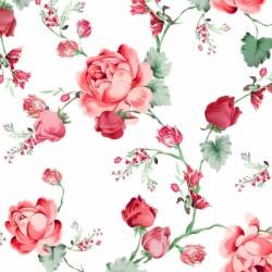 Papirni prtički Servieti Vrtnice 4 kosi 33x33cm