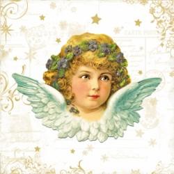Papirni prtički Servieti Vintage Angel 4 kosi 33x33cm