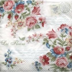 Papirni prtički Servieti Jardin Secret 4 kosi 33x33cm