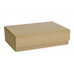 Papmache škatla za karte z magnetom 14 X 10,5 X 4cm