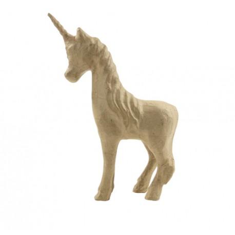 Papmache figura S Samorog 21cm