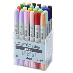 Copic Ciao set 24