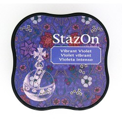 Stazon Midi blazinica za štampiljke 12 Vibrant violet