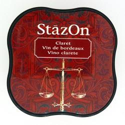 Stazon Midi blazinica za štampiljke 23 Claret
