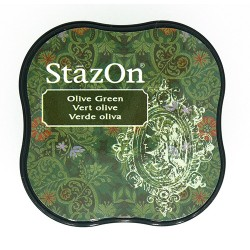 Stazon Midi blazinica za štampiljke 51 Olive green